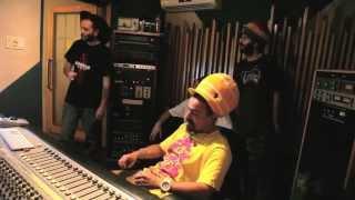 Alborosie & Dread Mar I - working In the Studio -
