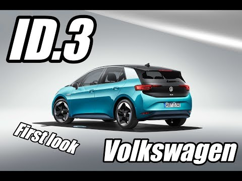 Volkswagen ID3 revealed and I've been inside it | Volkswagen Group night at Frankfurt IAA 2019