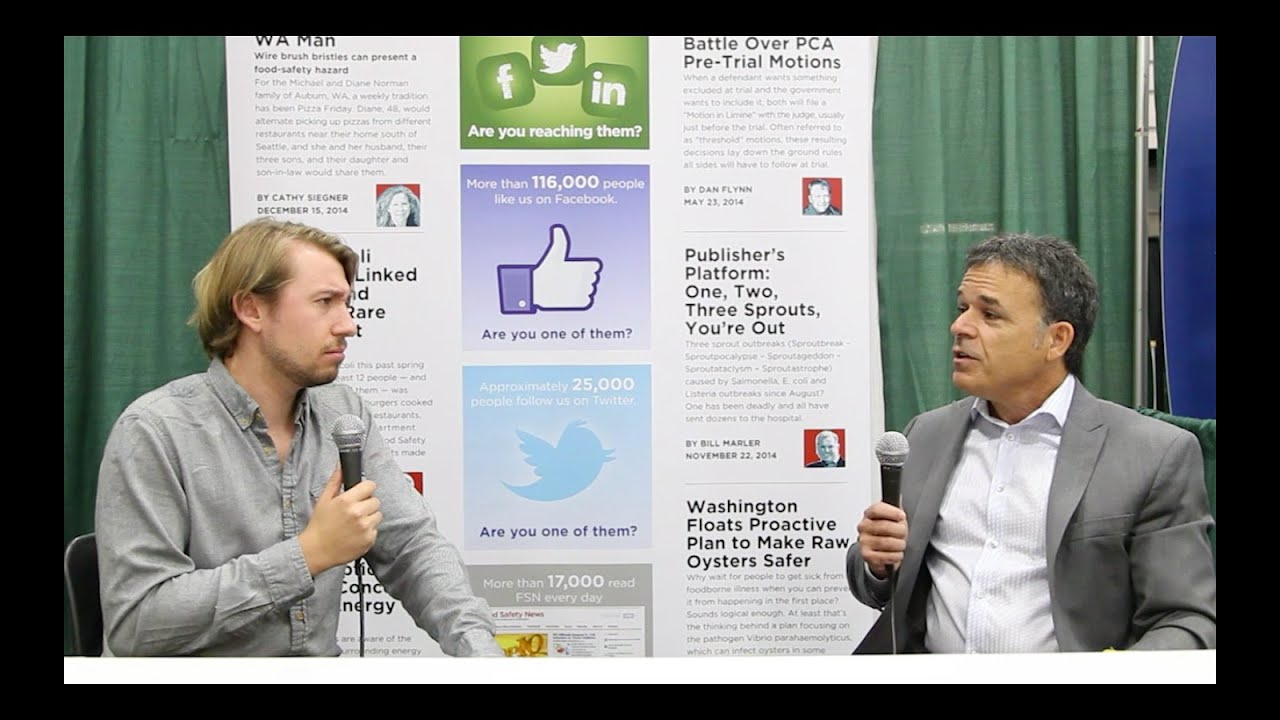 IAFP 2015: Interview with Frank Yiannas, VP of Food Safety for Walmart