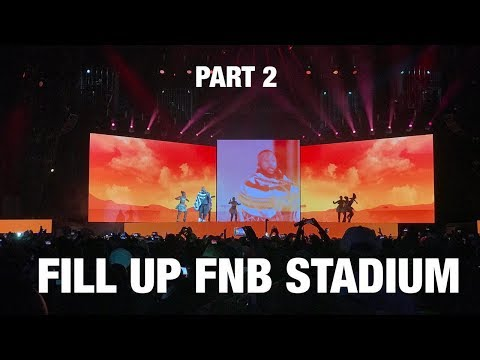 Cassper Nyovest - Fill Up FNB Stadium | Part 2 (with Babes Wodumo Riky Rick)