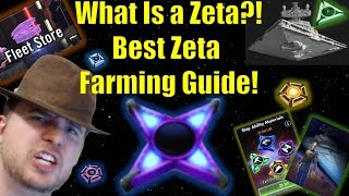 Star Wars Galaxy of Heroes: What is a Zeta?! Best Zeta Farming Guide and Explanation!