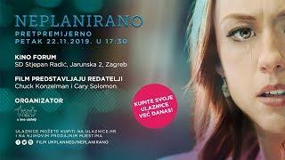 TRAILER Filma Neplanirano (Unplanned) - Pretpremijera Petak 22.11. U 17.30 // Zagreb Kino Forum