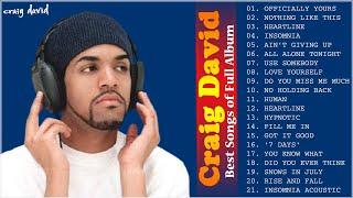 Craig David Greatest Hits 2020 - Craig David Top 20 Songs Playlist
