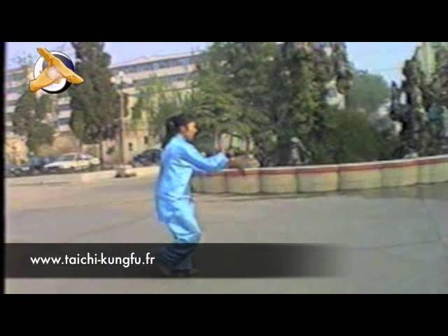 [Chen - Laojia] Double Epée par Mme Shen Zhen Jun - Taiji (Taichi) style Chen -
