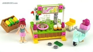 Lego Friends 2014 Mia's Lemonade Stand Set 41027 Review!