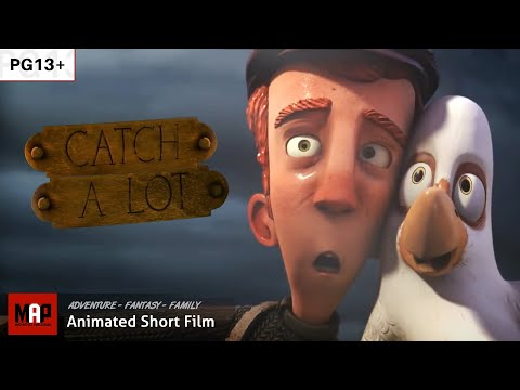 "CGI 3D Animated Short Film ""CATCH A LOT"" Funny Adventure Animation by Artfx"