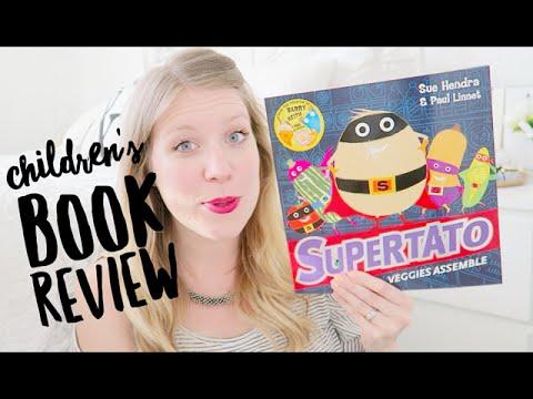 CHILDREN'S BOOK REVIEW | SUPERTATO - VEGGIES ASSEMBLE | THIS MAMA LIFE #AD