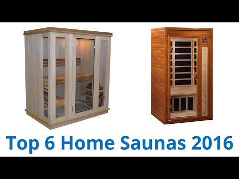 6 Best Home Saunas 2016