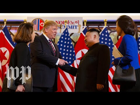 Trump and Kim meet in Hanoi