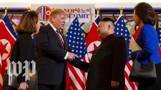 Trump and Kim meet in Hanoi