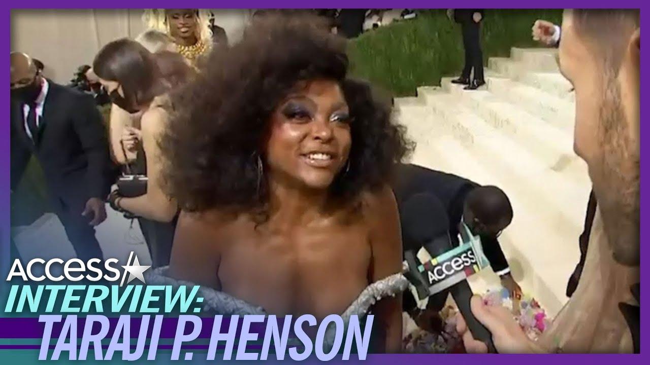Taraji P. Henson Thrilled To 'Hug On Humans' At 2021 Met Gala: 'I'm So Excited'