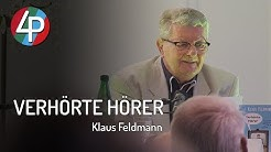 Klaus Feldmann   DDR Nachrichtensprecher Legende stellt sein zweites Buch vor