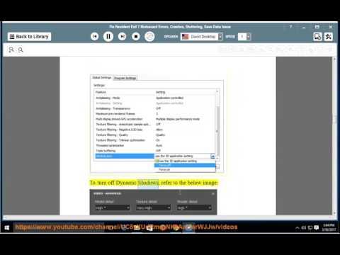 Fix Resident Evil 7 Biohazard Errors/Crashes/Stuttering / Data