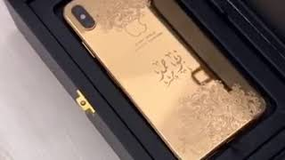 Luxury 24 Kt Gold iPhone X: Slay lifestyle