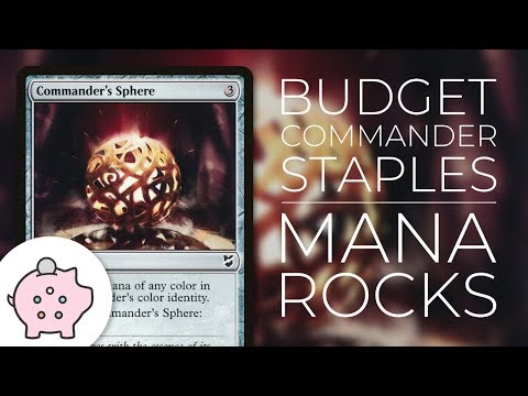Budget Commander Staples - Mana Rocks | Top 10 | Magic The Gathering | EDH