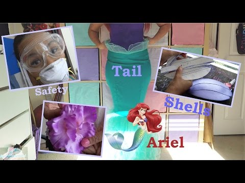 (3) Creating Ariel : Shells, Hair Clip, & Finishing Tail