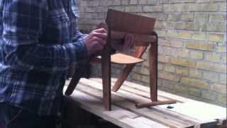 We Do Wood - Lilly's Chair Assembly Instruction