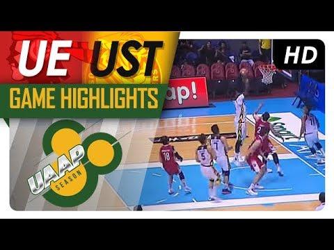 UST vs UE | Game Highlights | UAAP 80 Men's Basketball | November 12, 2017