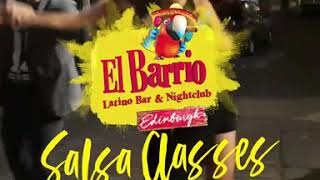 FREE salsa classes at El Barrio Edinburgh