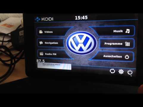 """KODI CarPi with original Raspberry Pi 7"""" Display"""