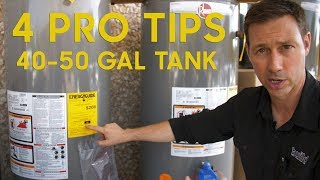 Watch this Before Buying A Gas Water Heater Tank