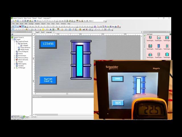 Vijeo Designer Tutorial #5 (Majelis HMI) How to display a 4