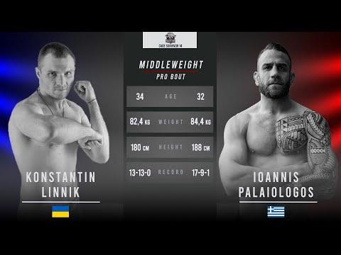 Cage Survivor 14: Konstantin Linnik vs. John Palaiologos Full Fight