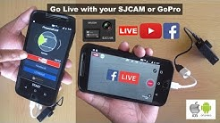Go Live with SJCAM on Facebook and Youtube - Bulu Biker