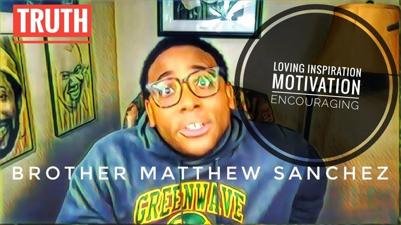 Matthew Sanchez Young Motivational Speaker On Information Man Show