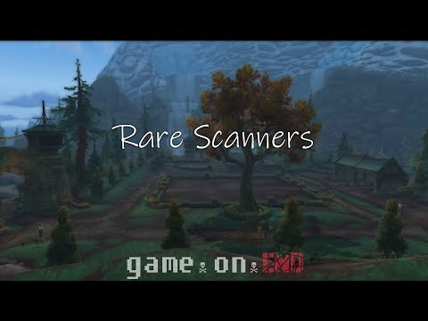 The Best Rare Scanners & Trackers! | GameOnEnd | WoW Addons Series | World Of Warcraft