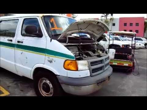 GovDeals: 24097/2000 Dodge Ram Van 3500 Maxivan. Fire 18-04
