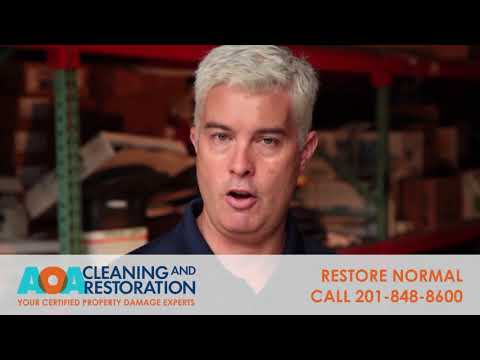 Sewage Cleanup - AOA Cleaning & Restoration
