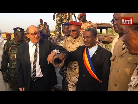 Les derniers pas de Jean-Yves Le Drian au Sahel