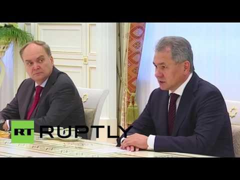 Turkmenistan: Shoigu discusses regional security with Turkmen President in Ashgabat