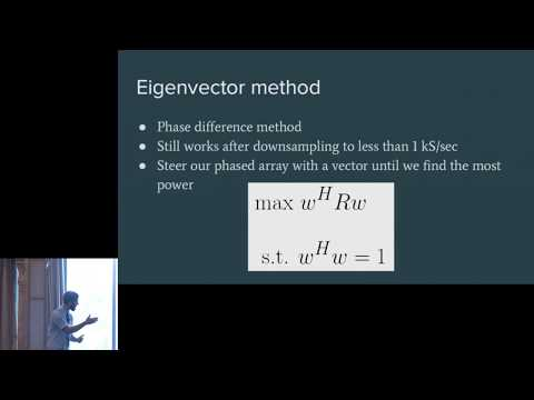 GRCon17 - Real-Time Direction Finding Using Two Antennas on an Android Phone - Sam Whiting