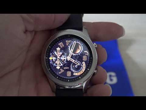 Samsung Gear S3 Classic Test Video Review FR HD (N-Gamz)