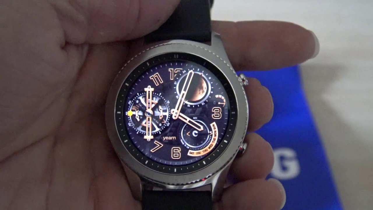 samsung gear s3 classic test video review fr hd n gamz. Black Bedroom Furniture Sets. Home Design Ideas