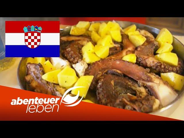 Lecker & deftig: Typische kroatische Gerichte im Test | Abenteuer Leben | Kabel Eins