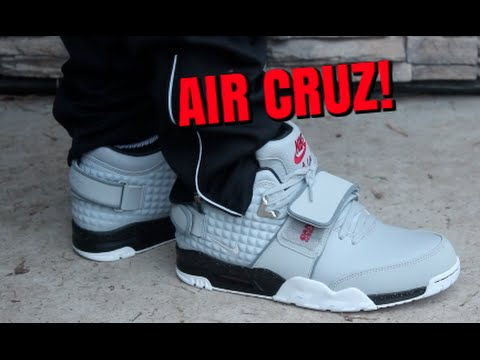 bf4d8e56c5216f ... sweden nike air trainer cruz wolf grey on feet youtube e42b0 38e1d
