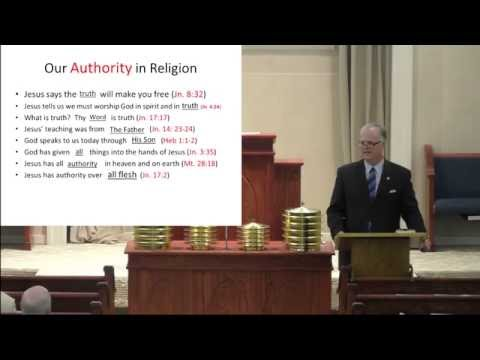 Chris Stephenson - 06/26/16 - Bible Study - Foundations Bible Class