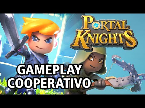 Portal Knights (ARPG/Minecraft-like) - Gameplay Cooperativo