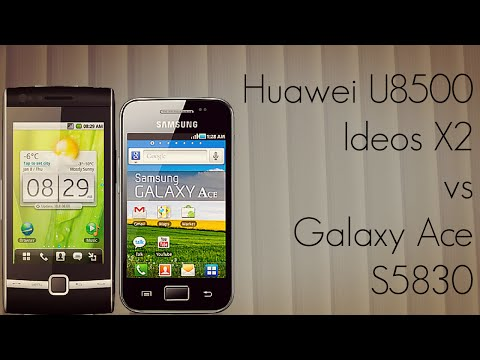 Huawei U8500 Ideos X2 vs Galaxy Ace S5830 Phone Comparison - PhoneRadar