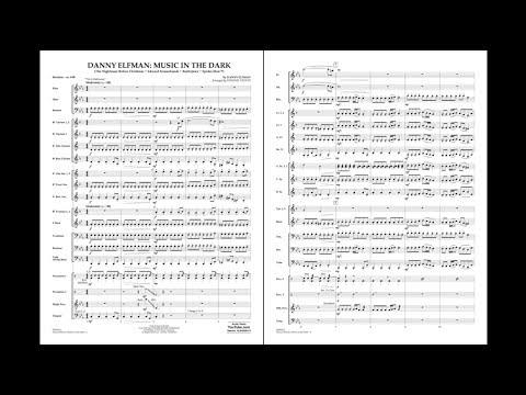 Danny Elfman: Music in the Dark arranged by Johnnie Vinson