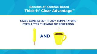 Thick-It® Clear Advantage™ Instant Food & Beverage Thickener