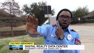 First Amendment Audit - Digital Realty Data Center - Carrollton, TX