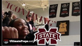 3x Gatorade POY Myah Taylor of #2 Mississippi State GETS JERSEY RETIRED!