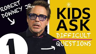 """""""i Would Say Hawkeye!"""": Kids Ask Robert Downey Jr. Difficult Questions"""