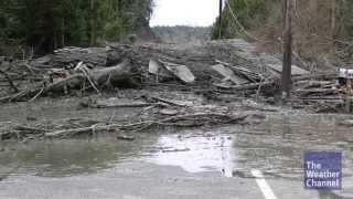 Kris Langton saves four people in Oso, Washington mudslide