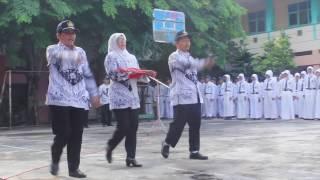 UPACARA HARI GURU SMPN 1 BANGIL