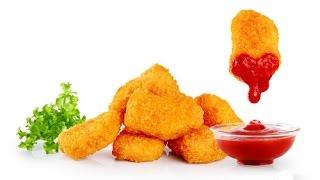 КУРИНЫЕ НАГГЕТСЫ с сыром Чикен Макнаггетс рецепт Chicken Nuggets Recipe